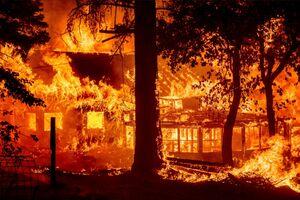 فیلم/ کالیفرنیا در محاصره گردباد آتش