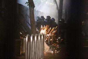 عکس/ شبهای ناآرام در خیابانهای پورتلند