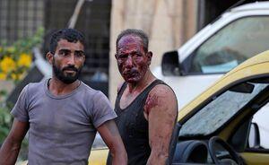 تصاویر مصدومان خونین انفجار بیروت ۱۳+