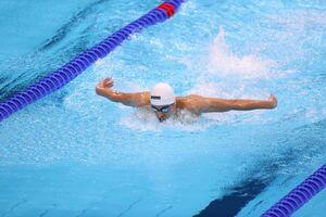 متین بالسینی نماینده شنا ایران در المپیک توکیو