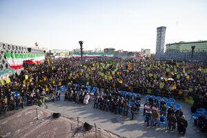 """عکس/ اجتماع مردم تهران در پاسداشت""""حماسه 9 دی"""""""