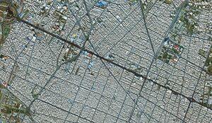 اولین تصاویر ماهوارهای مراسم تشییع در تهران