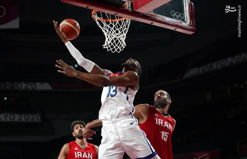 تیم ملی بسکتبال کشورمان در دومین بازی خود به مصاف آمریکا رفت و با نتیجه ۶۶-۱۲۰ بازی را واگذار کرد.