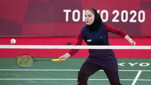 عکس/ اولین برد تاریخ بدمینتون ایران در المپیک