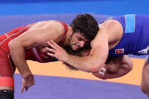 عکس/ دومین پیروزی یزدانی در ۲ دقیقه