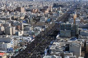 حرکت لشکر سلیمانی به سمت میدان آزادی/ تشییع جنازه سربازان آمریکایی در تهران +عکس و فیلم