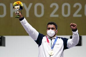 کسب نخستین طلای ایران در المپیک +عکس و فیلم