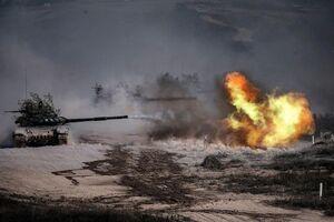 تصاویر جدید از روز دوم جنگ ارمنستان و آذربایجان