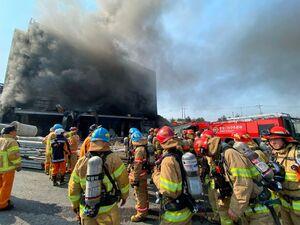 عکس/ آتش سوزی مرگبار در کره جنوبی