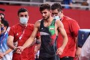 فیلم/ شکست شاگرد بنا در مسابقه اول المپیک