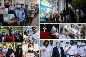 فیلم/ حضور باشکوه مردم ایران در انتخابات