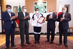 عکس/ تقدیر از جواد فروغی در سفارت ایران