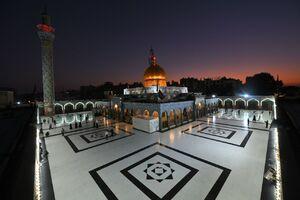 تصاویر اختصاصی مشرق از حرم حضرت زینب(س)