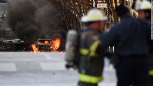 عکس/ انفجار قوی آمریکا را لرزاند