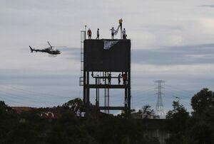 عکس/ شورش زندانیان در برزیل