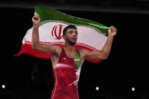 گرایی چهارمین طلایی المپیک تاریخ کشتی فرنگی ایران