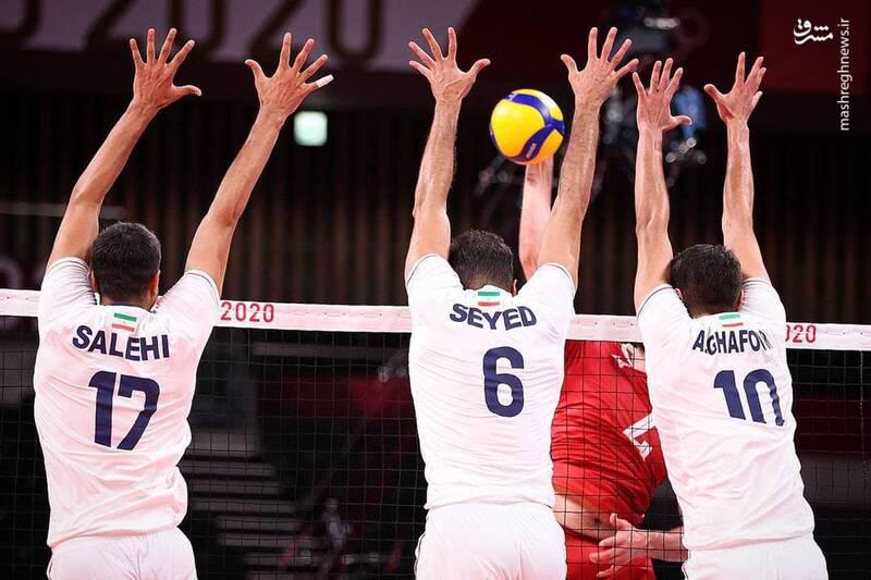 شکست تیم والیبال ایران مقابل کانادا