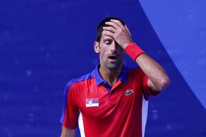 عکس/ خشم نواک جوکوویچ در رقابتهای المپیک