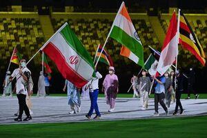 تصاویر دیدنی از اختتامیه المپیک ۲۰۲۰