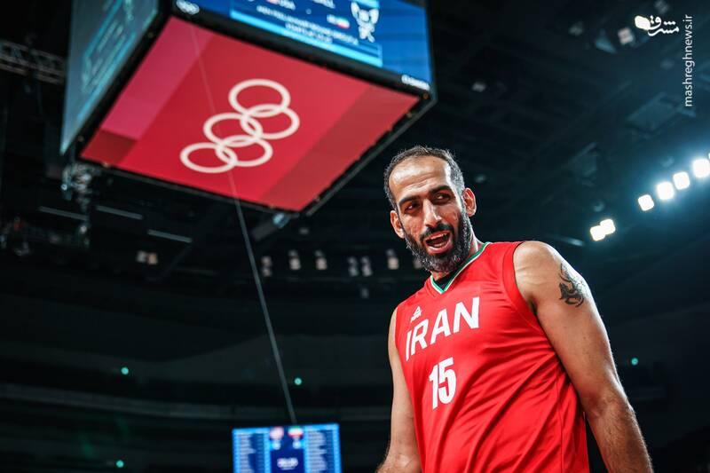 دیدار تیم ملی بسکتبال ایران و آمریکا