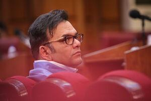 عکس/ دادگاه محمد امامی متهم فساد میلیاردی بانک سرمایه