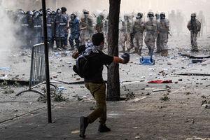 تصاویر جدید از ناآرامیهای بیروت