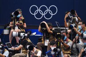 حضور عکاسان در مسابقات المپیک