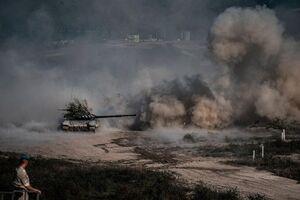 جدیدترین تصاویر از درگیری ارمنستان و آذربایجان