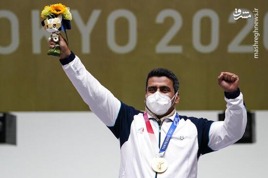 فیلم/ لحظه کسب مدال طلای فروغی در المپیک