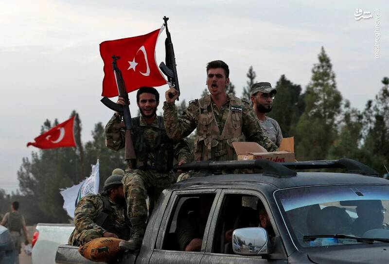 تروریستها در حال تبدیل شدن به نیروهای نیابتی دائمی ترکیه هستند / آنکارا در حال جنایت و تغییرات جمعیتی در سوریه است