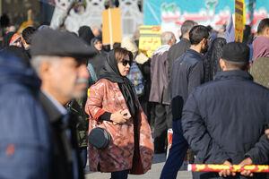 """اجتماع مردم تهران در پاسداشت""""حماسه 9 دی"""""""