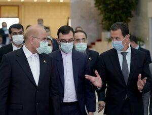 عکس/ دیدار قالیباف با بشار اسد