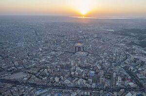 تصاویر هوایی ویژه از بین الحرمین