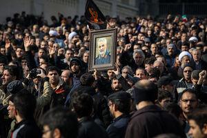 خروش مردم تهران علیه اقدام تروریستی آمریکا