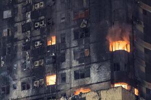 فیلم/ آتش سوزی مرگبار در حومه پاریس