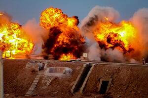 فیلم/ گزارش شبکه الجزیره از رزمایش سپاه
