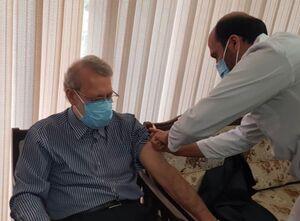 علی لارجانی واکسن زد