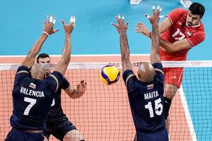 عکس/ برد قاطع تیم ملی والیبال ایران مقابل ونزوئلا