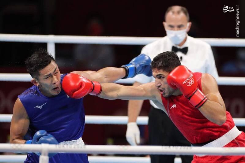 شاهین موسوی در وزن ٧۵ کیلوگرم مسابقات بوکس به مصاف یوتو موری واکی از ژاپن رفت.