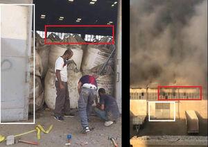 تصویری از علت اصلی انفجار در بیروت