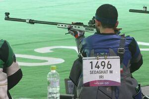 عکس/ پایان کار تیراندازی ایران در المپیک با ناکامی صداقت