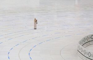 عکس/ حال و هوای زائران خانه خدا