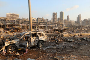 تصاویر با کیفیت از انفجار بیروت / انفجار لبنان