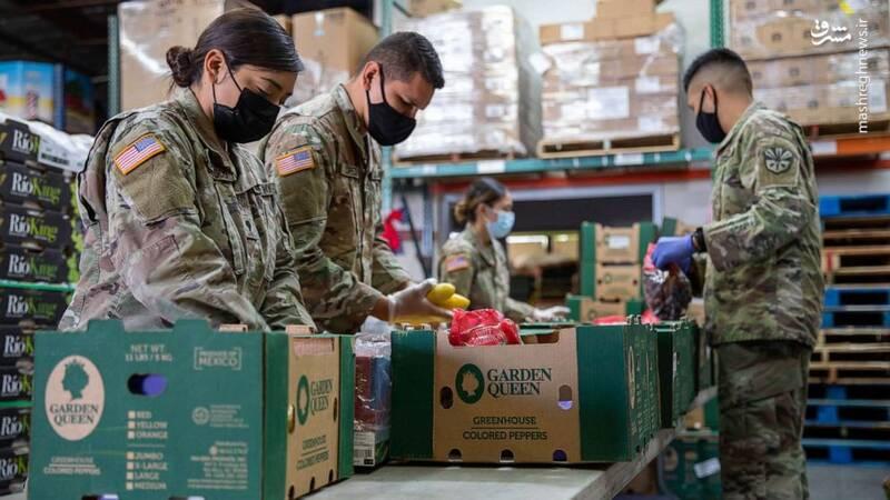 هشدار اندیشکده آمریکایی نسبت به بحران غذایی در میان نظامیان و کهنهسربازان ارتش آمریکا