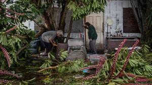 عکس/ خسارت سنگین طوفان در تگزاس